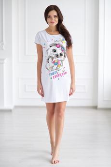 Женская домашняя футболка Шарлиз со скидкой