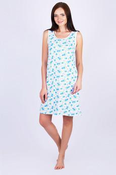 Сорочка с голубыми цветами Красная Ветка