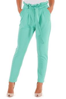 Ментоловые брюки Трикотажница