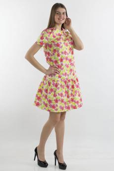 Летнее платье с цветами Bast