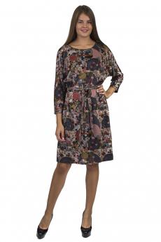 Трикотажное платье с поясом Bast